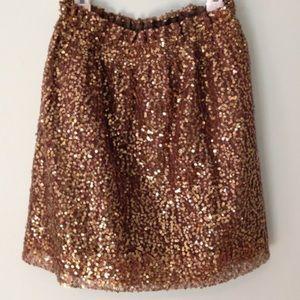 Sequin City Skirt